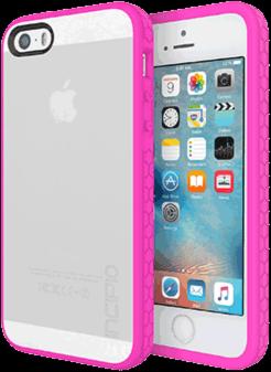 iPhone 5/5S/SE Incipio Octane Case - Frost/Neon Pink