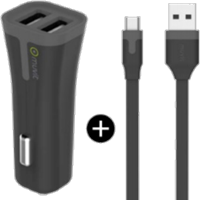 Muvit microUSB 2.4A Car Charger