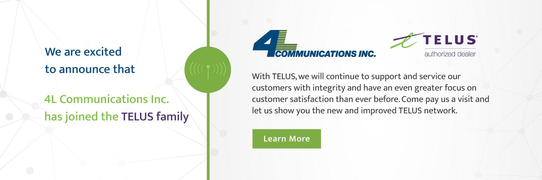 4L Communications Telus Dealer