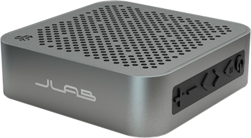 JLab Audio Crasher Mini Bluetooth Speaker with Splashproof Metal Body