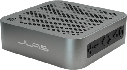 JLab Audio - Crasher Mini Bluetooth Speaker with Splashproof Metal Body