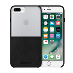 iPhone 6/7+ Burton Leather Case - Clear/Black