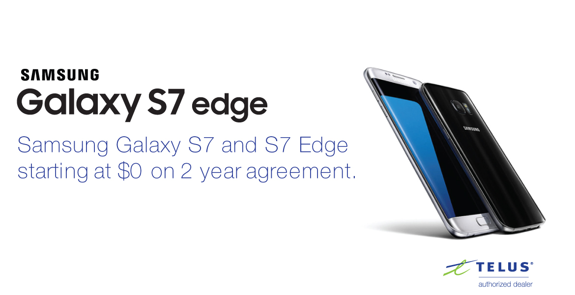 Samsung Galaxy S7 and S7 edge Promo