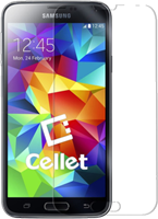 Cellet Samsung Galaxy S5 Premium Tempered Glass Screen Protector
