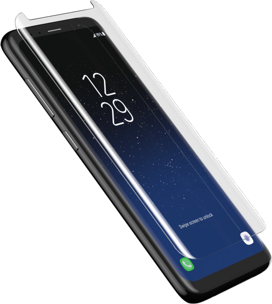 samsung galaxy s8 invisibleshield curve screen protector. Black Bedroom Furniture Sets. Home Design Ideas