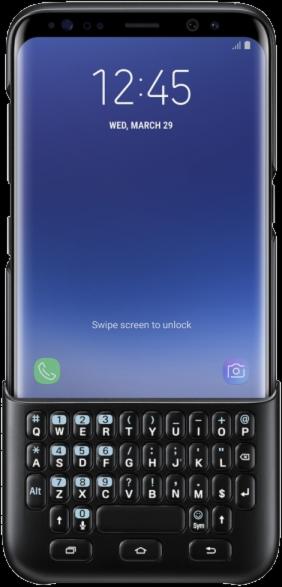 Galaxy S8 Keyboard Cover - Black