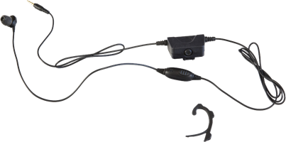 Milicom Moto 2-in-1 In-Ear Mic, Phone and PTT Headset