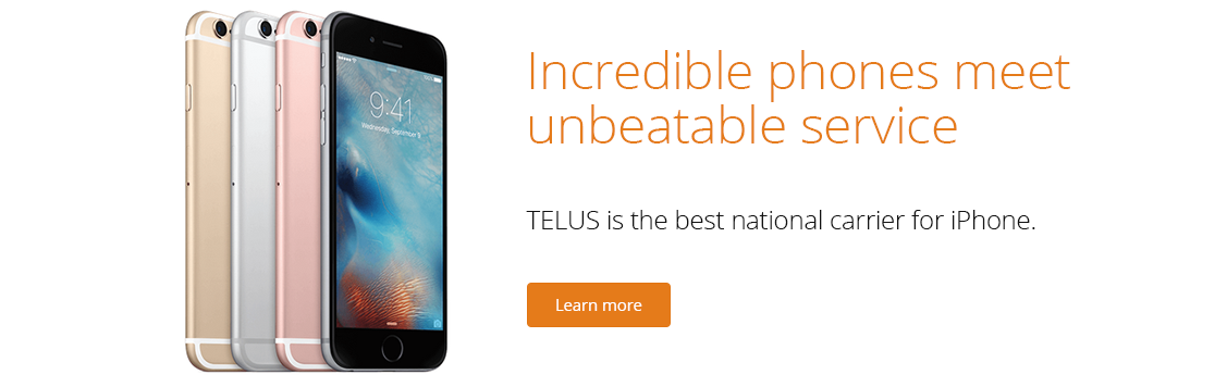 TELUS Best National Carrier