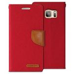 Goospery Galaxy S7 Canvas Wallet - Red