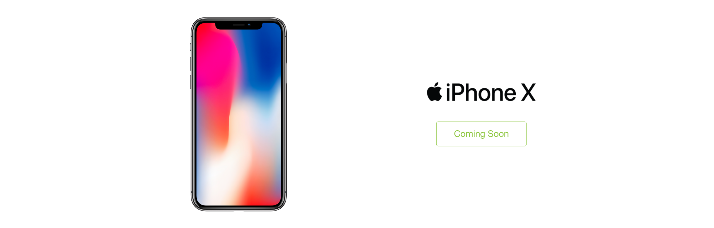 Apple iPhone X - Coming Soon