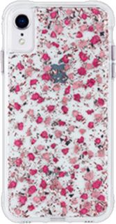 iPhone XR Ditsy Petals Real Flower Case - Real Flower Ditsy