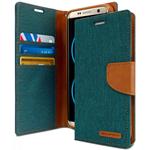Goospery Galaxy S8+ Canvas Wallet - Teal