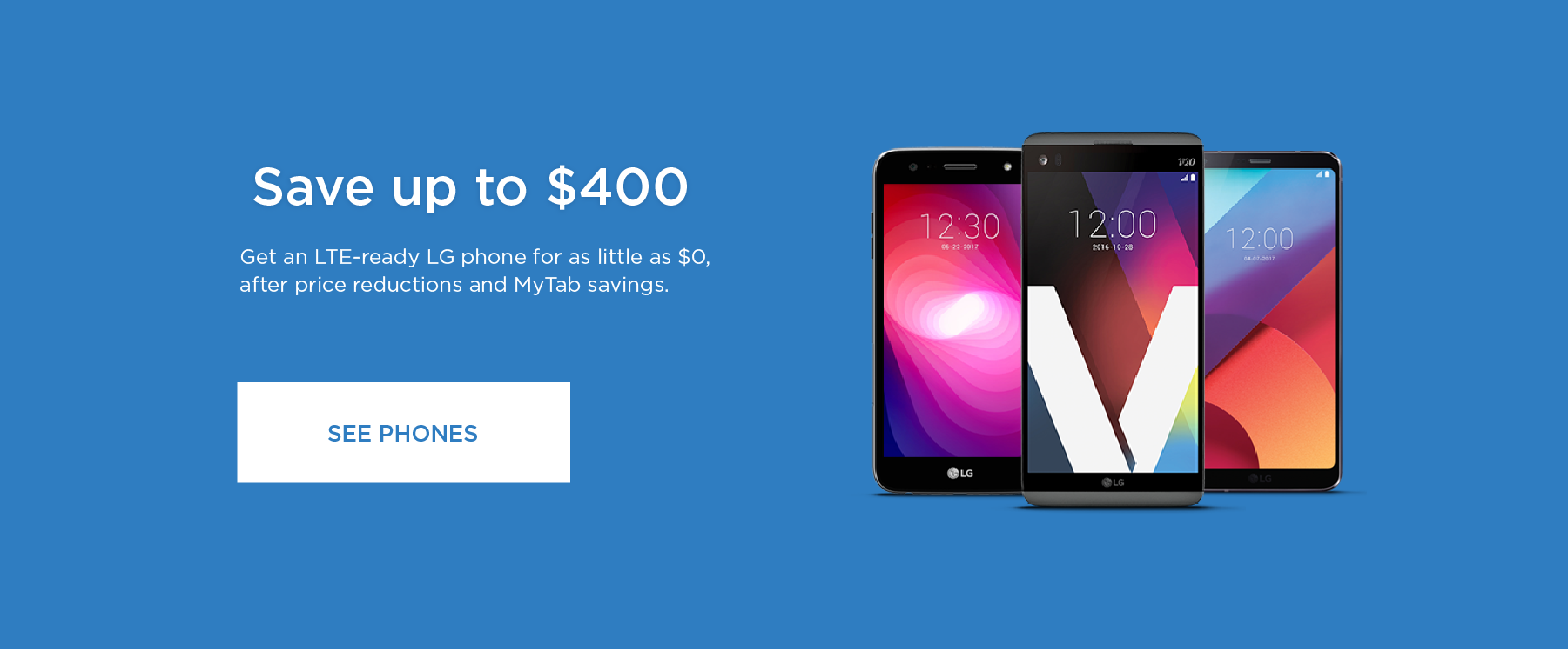 Save Up to $400 - LG LTE