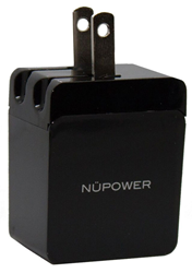 NuPower Chargeur AC 2.4A, USB Output