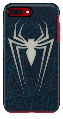 new product 874dd 6dc3c OtterBox iPhone 8 Plus/7 Plus Symmetry Series Marvel Spider-Man and ...