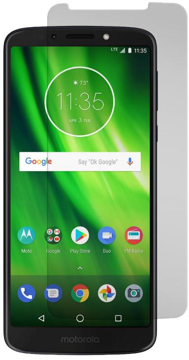 Motorola Moto G6 Play / Moto E5 Black Ice Glass Screen Protector