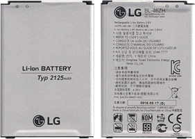 LG K8 2125 mAh Standard Lithium-Ion Battery