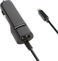 KEY 3.4A Dual Port USB-C Car Charger