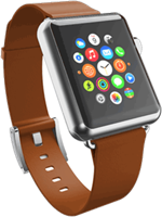 Incipio Apple Watch  Premium Leather 42mm Band