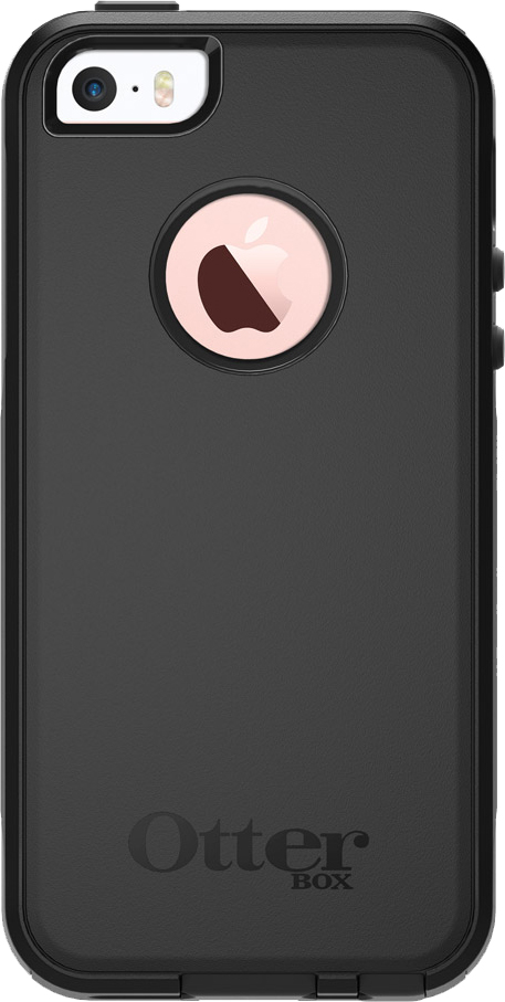 iPhone 5/5s/SE Commuter Case - Black