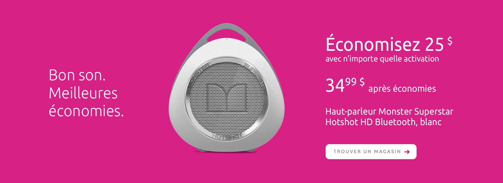 Haut-parleur Monster Superstar Hotshot HD Bluetooth