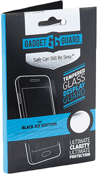 Gadgetguard LG K3 2017 Black Ice Edition Tempered Glass Screen Guard