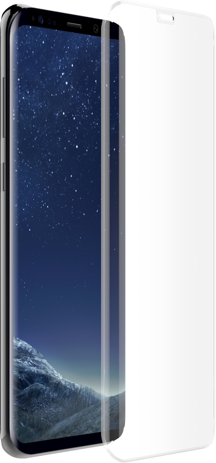Galaxy S8+ Alpha Glass Screen Protector - Clear