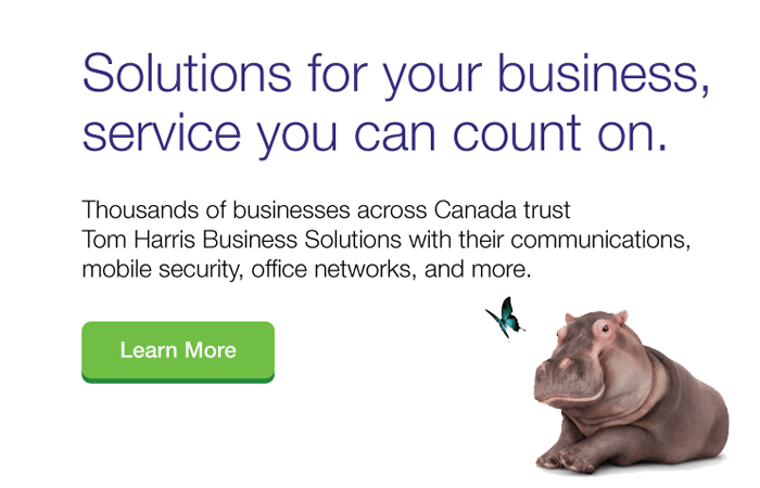 Tom Harris TELUS Business Solutions