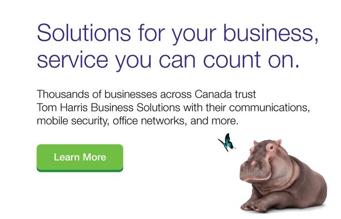 Tom Harris TELUS Business Solutions