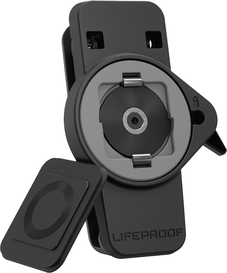 LifeActiv Belt Clip with QuickMount - Black