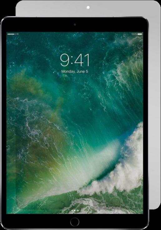 iPad Pro 10.5 Black Ice Edition Tempered Glass Screen Guard