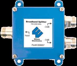 weBoost Wilson 2 Way splitter for 700-2400 MHz w/ N female connectors
