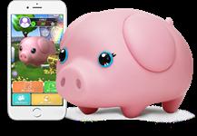 Wiggy Piggy - Bluetooth Piggybank
