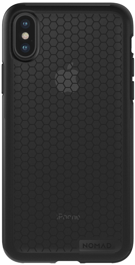 iPhone X Hexagon Case - Black