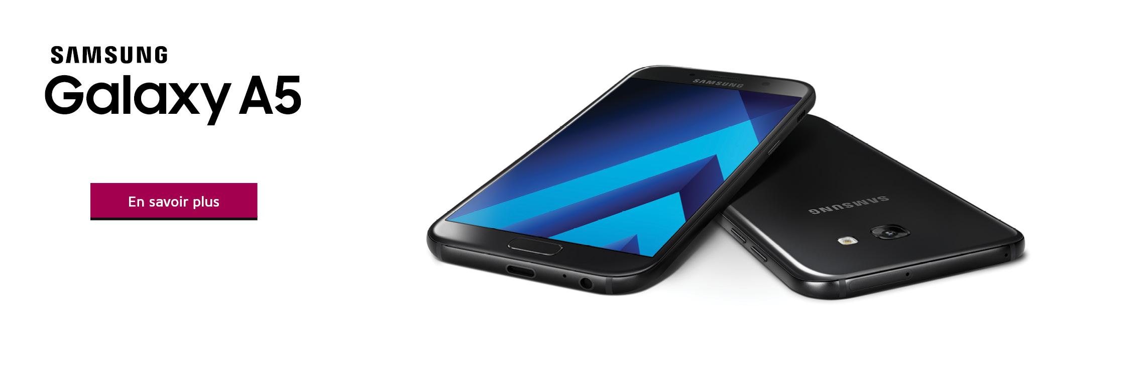 Le Samsung Galaxy A5 est disponible maintenant chez WOW! boutique mobile!