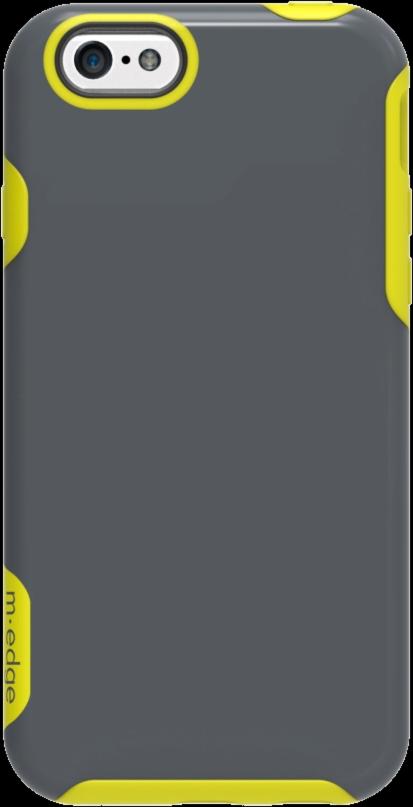 iPhone 6/6s Echo Case - Slate/Lime