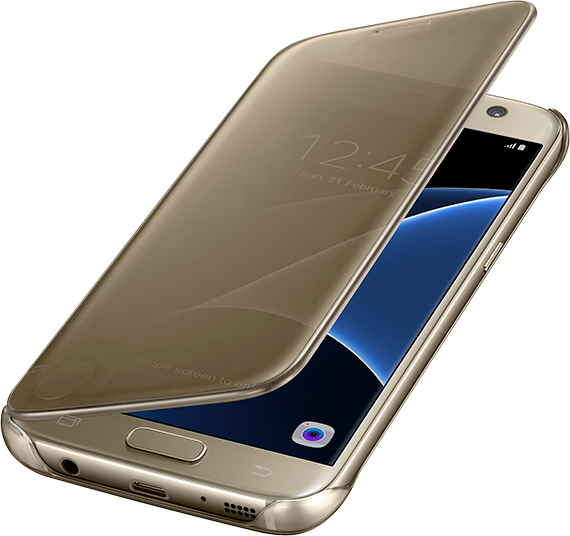 samsung tui clear view cover pour galaxy s7 price and features. Black Bedroom Furniture Sets. Home Design Ideas
