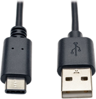 Tripp Lite USB 2.0 Hi-Speed USB-A to USB-C Cable (M/M)