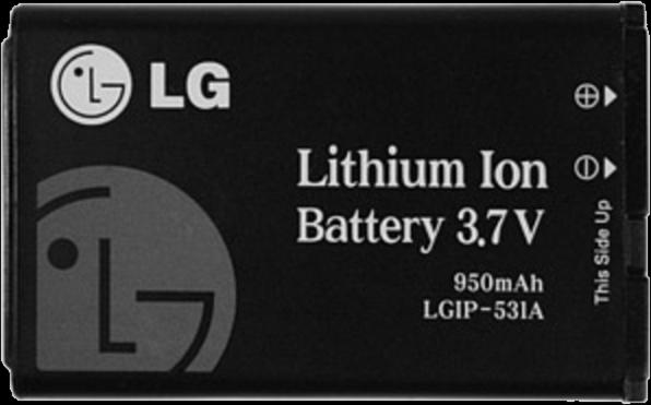LG AN170 Fluid 2 950 mAh Standard Battery