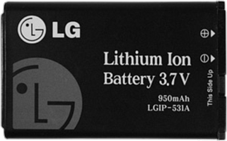 LG AN170 Fluid 2 950 mAh Standard Battery