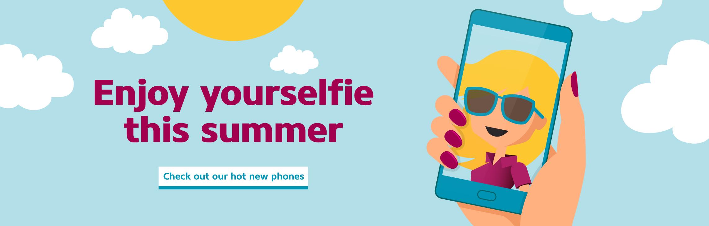 Enjoy yourselfie this summer