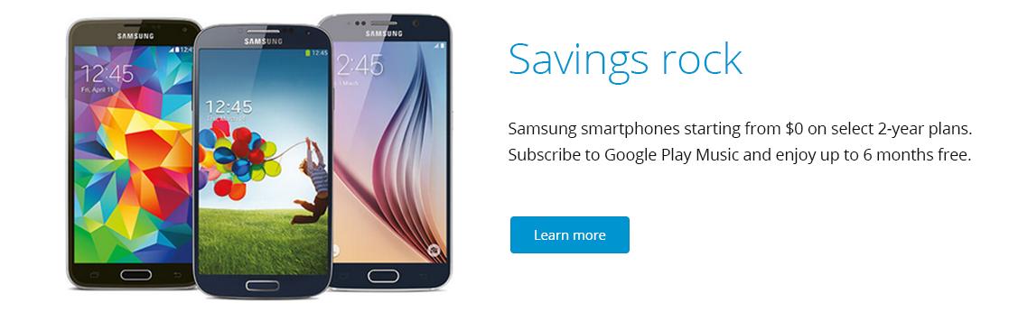TELUS Samsung Smartphones