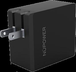 NuPower Chargeur mural USB double de 4,8A