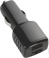 KEY 4.8A Dual Car Charger (DC ONLY)