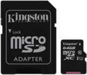 Kingston Class 10 Gen 2 microSDHC Flash Card