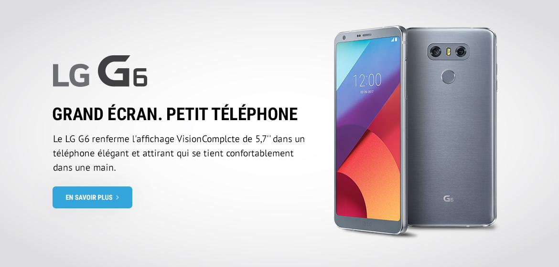 LG G6 Wave Sans Fil