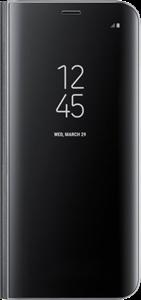 Samsung Étui rigide ajusté avec support Clear View pour Galaxy S8