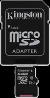 Kingston Class 10 microSD & Adapter