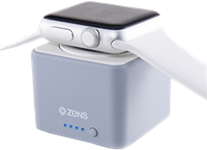ZENS 1300 mAh Apple Watch Wireless Charging Portable Power Bank