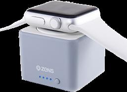 ZENS 1300 mAh Apple Watch Wireless Charging Portable Power Bank